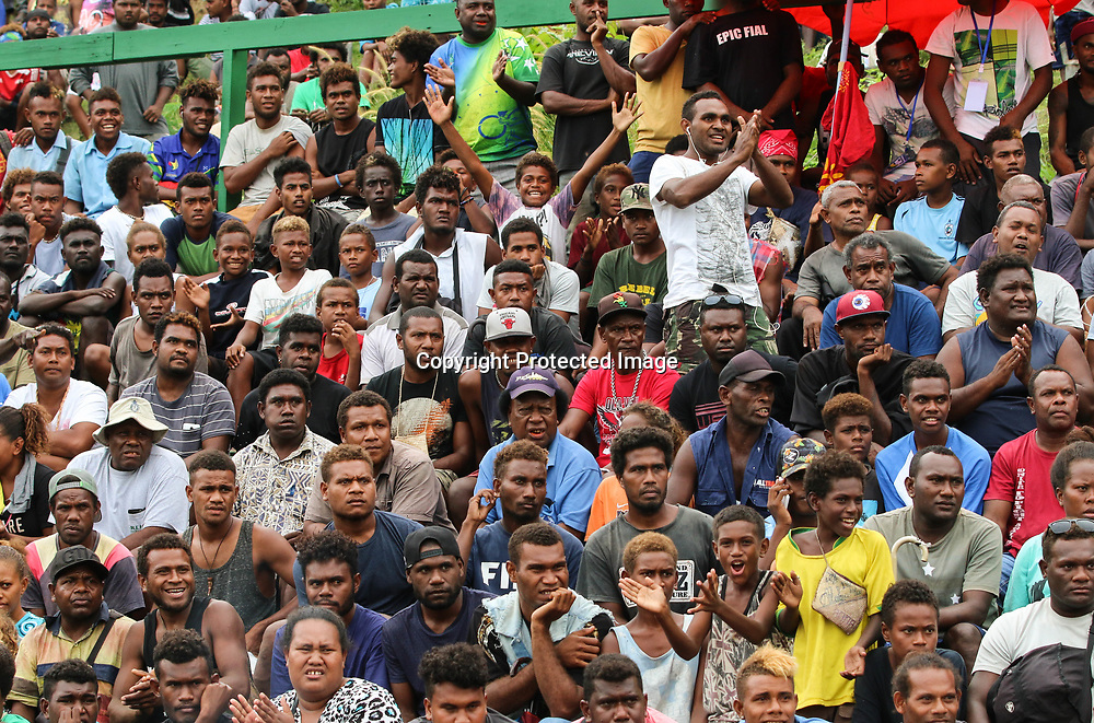 Fans watch the game.<br /> Fifa World Cup Qualifier, Solomon Islands v New Zealand All Whites, Lawson Tama Stadium, Honiara, Solomon Islands, 5 September 2017. Photo: OFC Media / www.photosport.nz