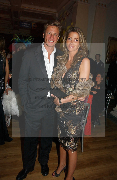 ROBERT HERSOV and PHAEDRA HOSTE at Andy &amp; Patti Wong's annual Chinese New year Party, this year to celebrate the Year of The Pig, held at Madame Tussauds, Marylebone Road, London on 27th January 2007.<br />