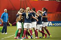 Joie France - Louisa NECIB - 26.06.2015 - Allemagne / France - 1/4Finale Coupe du Monde 2015 -Montreal<br />Photo : Catherine Legault / Icon Sport