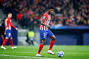 Thomas of Atletico de Madrid during the UEFA Champions League, Group A football match between Atletico de Madrid and AS Monaco on November 28, 2018 at Wanda Motropolitano stadium in Madrid, Spain - Photo Oscar J Barroso / Spain ProSportsImages / DPPI / ProSportsImages / DPPI