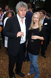 ROD LIDDLE and ALICIA MONCKTON at the No Campaign's Summer Party - a celebration of the 'Non' and 'Nee' votes in the Europen referendum in France and The Netherlands held at The Peacock House, 8 Addison Road, London W14 on 5th July 2005.<br />