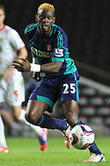 Picture by David Horn/Focus Images Ltd +44 7545 970036.25/09/2012.Louis Saha of Sunderland during the Capital One Cup match at stadium:mk, Milton Keynes.