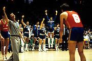 Europei Francia 1983 - Nantes: esultanza team italia