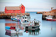 Bradley Wharf in Rockport, Massachusetts.
