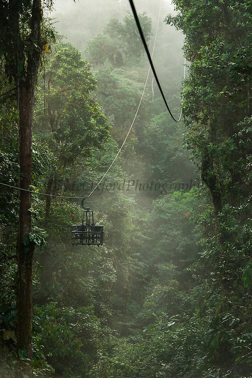 Cable Car<br /> Mashpi Rainforest Biodiversity Reserve<br /> Pichincha<br /> Ecuador<br /> South America