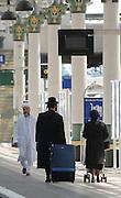 Muslim and Jewish train passengers