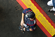Joe Mauer #7 of the Minnesota Twins walks out of the bullpen before a game against the Chicago White Sox on May 13, 2013 at Target Field in Minneapolis, Minnesota.  The Twins defeated the White Sox 10 to 3.  Photo: Ben Krause