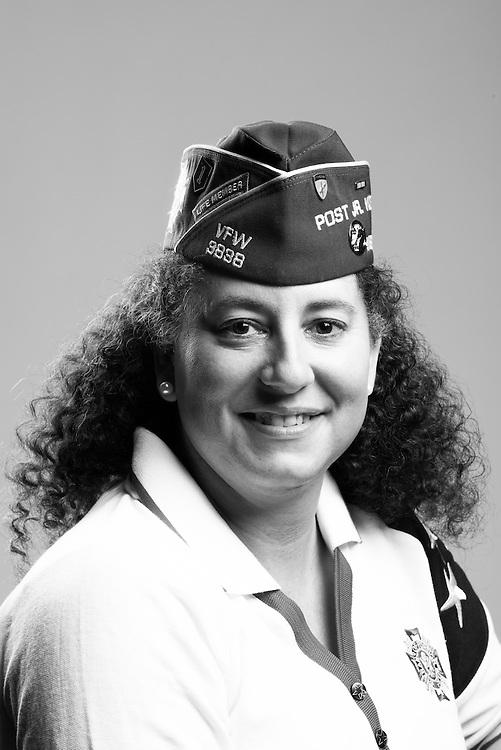 Bonnie Hampton<br /> Army Reserves<br /> E-5<br /> Psychological Operations<br /> 1987 - Present<br /> Desert Storm<br /> <br /> Veterans Portrait Project<br /> St. Louis, MO
