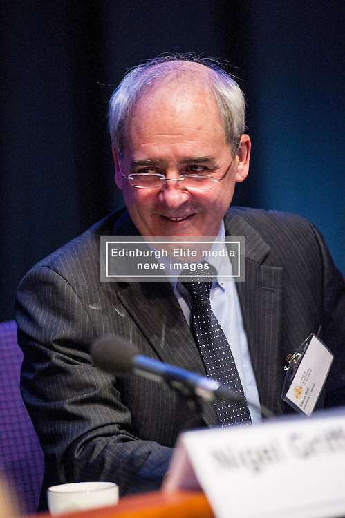Pictured: David Bell<br /> <br /> The Institute and Faculty of Actuaries hosted a flagship European Union referendum debate for around 250 delegates in Edinburgh tonight. Speakers at the event were Matthew Anderson, member of the Advisory Board - Britain Stronger in Europe, Jim Sillars, former deputy leader of the SNP, Jo Shaw, Salvesen Chair of European Institutions, Nigel Griffiths, Labour Leave Scotland and former deputy leader of the House of Commons Nigel Griffiths and  David Bell, Professor of Economics, University of Stirling.<br /> Ger Harley | EEm 5 April 2016