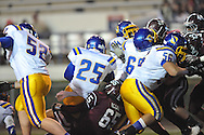 Oxford High's Kenzie Phillips (25) scores vs. Picayune in the MHSAA Class 5A championship game at Mississippi Veterans Memorial Stadium in Jackson, Miss. on Saturday, December 7, 2013. Picayune rallied to win 42-35.