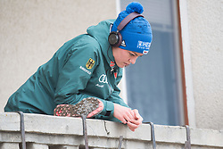 February 8, 2019 - Carina Vogt of Germany warming up before first competition day of the FIS Ski Jumping World Cup Ladies Ljubno on February 8, 2019 in Ljubno, Slovenia. (Credit Image: © Rok Rakun/Pacific Press via ZUMA Wire)