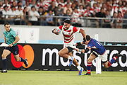 Timothy LAFAERE (JPN) during the Japan 2019 Rugby World Cup Pool A match between Japan and Russia at the Tokyo Stadium in Tokyo on September 20, 2019.