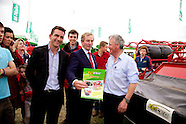 Taoiseach Enda Kenny at Keltec Stand at The National Ploughing Championships 2014.