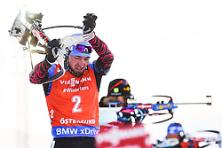 March 10, 2019 - –Stersund, Sweden - 190310 Alexander Loginov of Russia  during the Men's 12,5 km Pursuit during the IBU World Championships Biathlon on March 10, 2019 in Östersund..Photo: Petter Arvidson / BILDBYRÃ…N / kod PA / 92255 (Credit Image: © Petter Arvidson/Bildbyran via ZUMA Press)