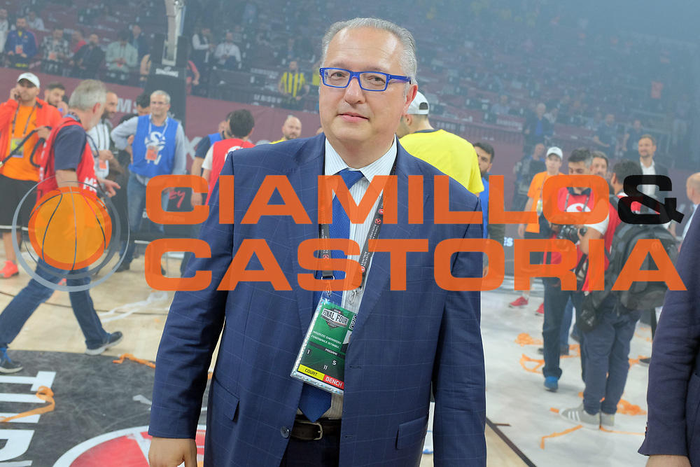 Maurizio Gherardini<br /> Fenerbahce Istanbul - Olympiakos Piraeus<br /> Euroleague Final Four 2017<br /> Finale 1 - 2 Posto<br /> Euroleague 2016/2017<br /> Istanbul, 21/05/2017<br /> Foto M.Ceretti / Ciamillo - Castoria