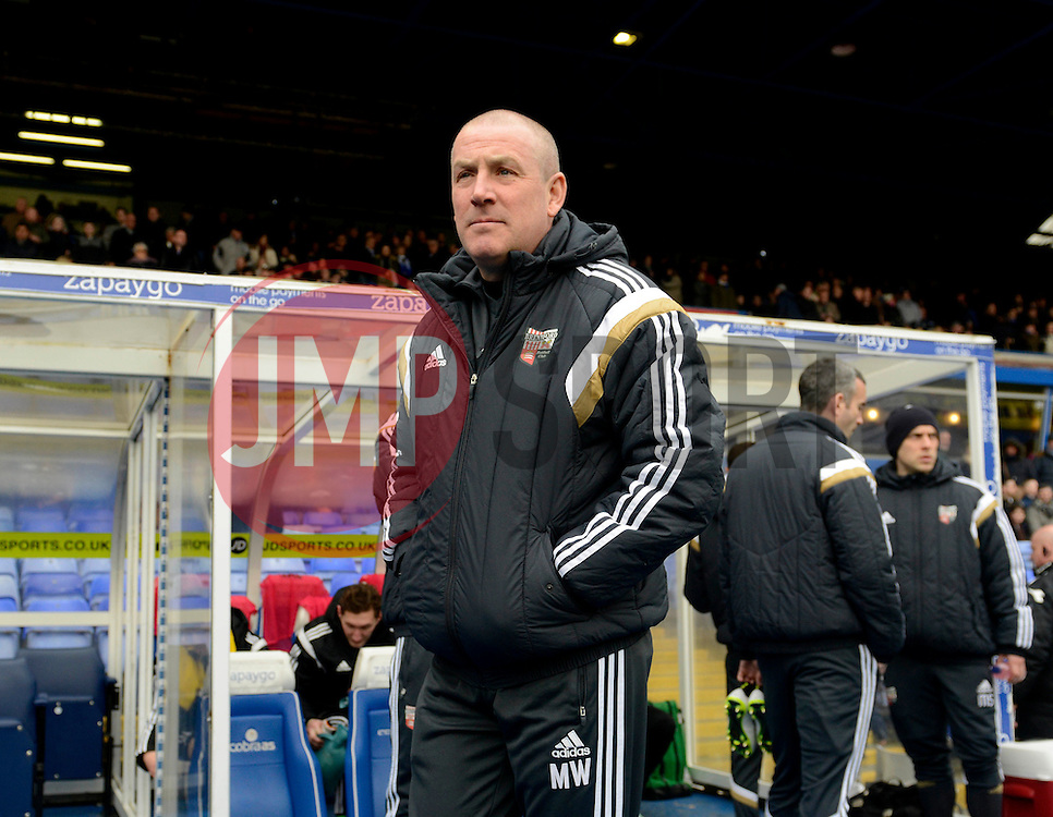 Brentford Manager, Mark Warburton  - Photo mandatory by-line: Joe Meredith/JMP - Mobile: 07966 386802 - 28/02/2015 - SPORT - Football - Birmingham - ST Andrews Stadium - Birmingham City v Brentford - Sky Bet Championship