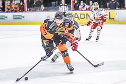 10.03.2019, Merkur Eisstadion, Graz, AUT, EBEL, Moser Medical Graz 99ers vs HCB Suedtirol Alperia, Platzierungsrunde, 54. Runde, im Bild Peter Robin Weihager (Moser Medical Graz 99ers) // during the Erste Bank Eishockey League 54th round match between Moser Medical Graz 99ers and HCB Suedtirol Alperia at the Merkur Eisstadion in Graz, Austria on 2019/03/10. EXPA Pictures © 2019, PhotoCredit: EXPA/ Dominik Angerer
