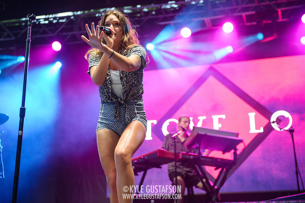 COLUMBIA, MD - May 30, 2015 - Tove Lo performs on the TreeHouse Stage at the 2015 Sweetlife Festival at Merriweather Post Pavilion in Columbia, MD. The Swedish songstress drew one of the biggest crowds of the day. (Photo by Kyle Gustafson / For The Washington Post)