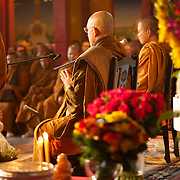 Vénérable Nyanadharo MahaThéra Luang Pu Nenkham Chattigo.Pagode de Vincennes Vesak 2013.