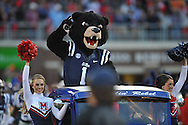 Rebel the Bear mascot at Ole Miss vs. Tennessee at Vaught-Hemingway Stadium in Oxford, Miss. on Saturday, October 18, 2014.