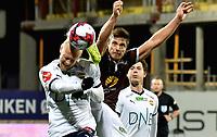 Fotball, 4. oktober  2019 , Eliteserien , Mjøndalen - Strømsgodset<br /> <br /> Sondre Solholm Johansen  , MIF<br /> Lars-Jørgen Salvesen , SIF