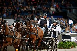 Duen, Rainer (GER) <br /> Stuttgart - German Masters 2016<br /> © www.sportfotos-lafrentz.de