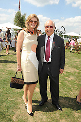 URS & FRANCESCA SCHWARZENBACH at the Cartier International Polo at Guards Polo Club, Windsor Great Park on 27th July 2008.<br /> <br /> NON EXCLUSIVE - WORLD RIGHTS