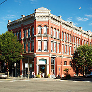 Victorian Building in Port Townsend, Washington State, along the Olympic Peninsula, Washington State.