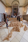 "Venice, Italy - 15th Architecture Biennale 2016, ""Reporting from the Front"".<br /> Prospect North: Scotland's Communities."
