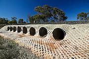Railway Culvert, Outback NSW, Australia