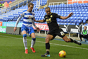 Bolton Wanderers midfielder Darren Pratley clears the ball during the Sky Bet Championship match between Reading and Bolton Wanderers at the Madejski Stadium, Reading, England on 21 November 2015. Photo by Mark Davies.