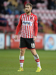 Exeter City's David Noble - Photo mandatory by-line: Alex James/JMP - Mobile: 07966 386802 - 10/01/2015 - SPORT - football - Exeter - St James Park - Exeter City v Northampton - Sky Bet League Two