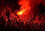 Croatia Fans Euro 2008.Croatia V Turkey Quarter Final Turkey win on penalty shootout .Ernst Happel Stadium Stadium 20/06/08. UEFA European Championships 2008.