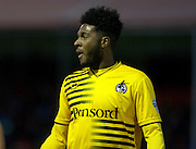 Bristol Rovers striker Ellis Harrison during the Sky Bet League 2 match between Crawley Town and Bristol Rovers at the Checkatrade.com Stadium, Crawley, England on 21 November 2015. Photo by Bennett Dean.