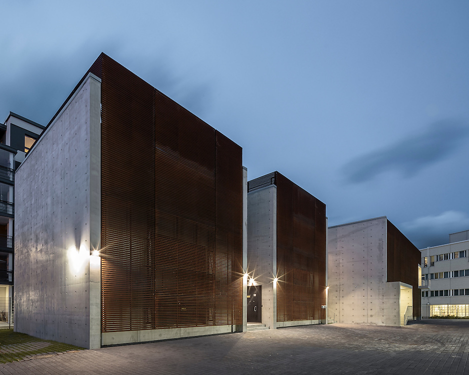 Lauttasaari electrical substation in Helsinki, Finland designed by Virkkunen & Co architects.