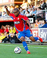 Ashley Chambers of Dagenham and Redbridge during the Pre Season Friendly match at the London Borough of Barking and Dagenham Stadium, London<br /> Picture by David Horn/Focus Images Ltd +44 7545 970036<br /> 22/07/2014
