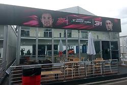 October 25, 2017 - EUM20171025DEP04.JPG.CIUDAD DE MÉXICO RacesCarreras-GP México.- Aspectos generales de la zona de paddock del Autódromo Hermanos Rodríguez a un par de días de que inicie el Gran Premio de México, 25 de octubre de 2017. Foto: Agencia EL UNIVERSALRenzo ChiquitoMAVC (Credit Image: © El Universal via ZUMA Wire)