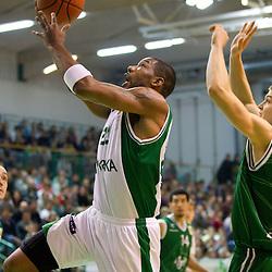 20111112: SLO, Basketball - ABA League, KK Krka vs Union Olimpija