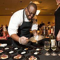 Exec Chef Kareem Michael and Marina Saenko at Flavors of Neponset Valley 2011