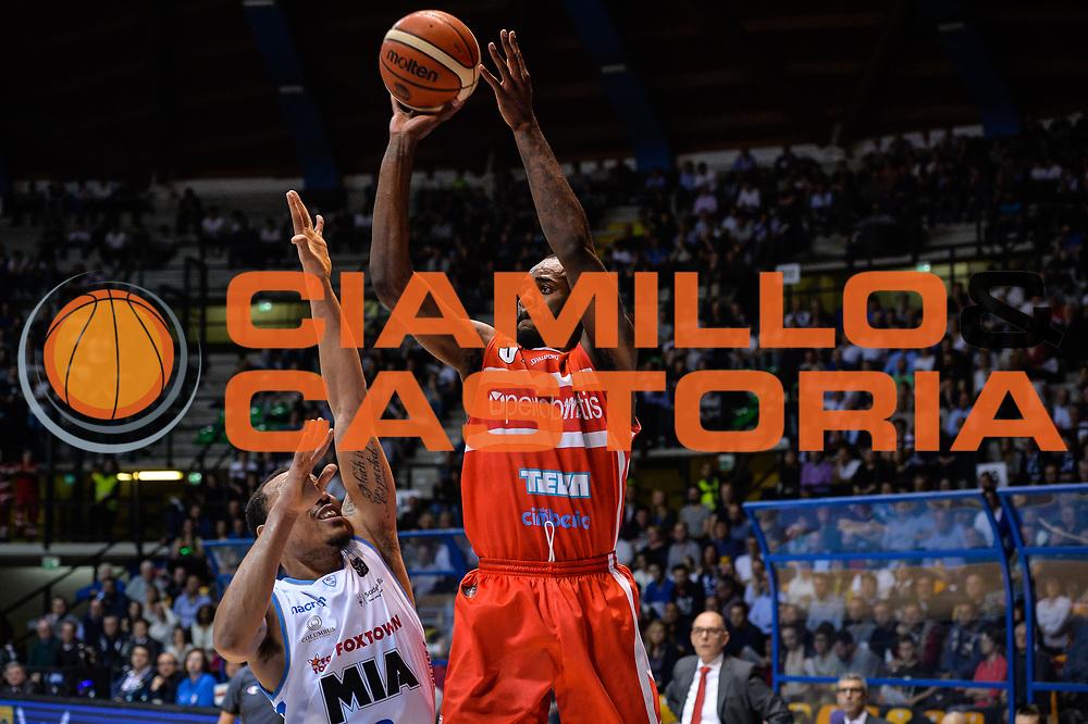 Christian Eyenga<br /> Pallacanestro Cantu' - Openjobmetis Varese <br /> Basket serie A 2016/2017<br /> Desio 02/04/2017<br /> Foto Ciamillo-Castoria