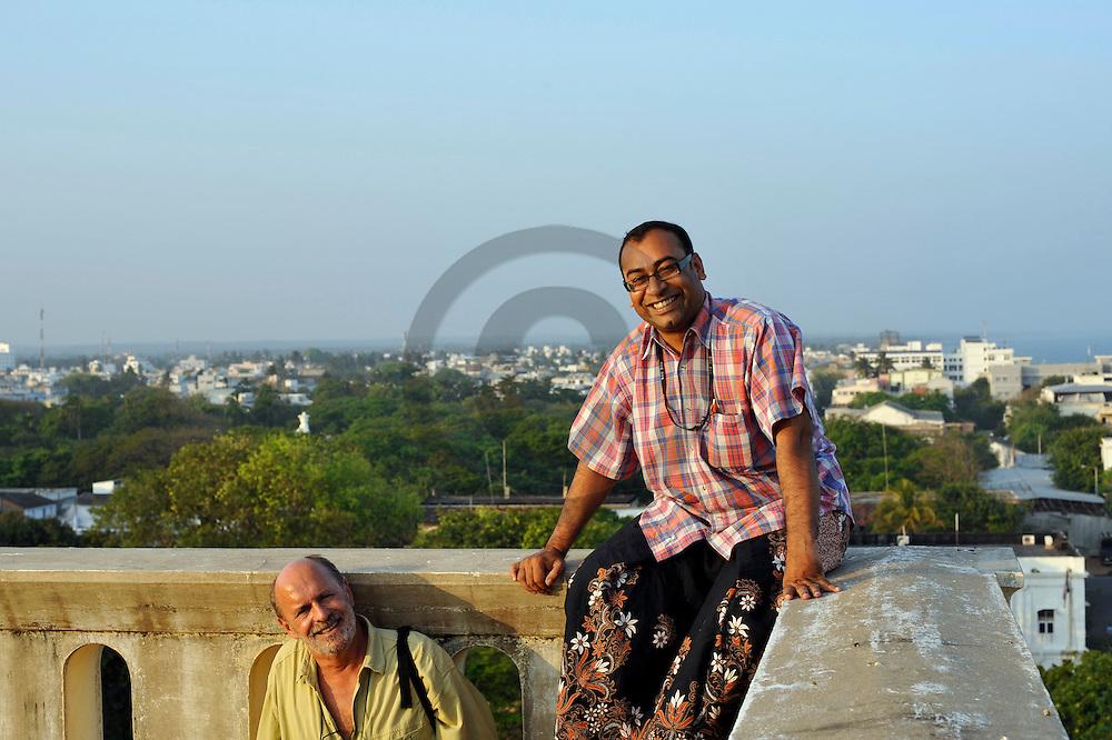 27/12/08 - PONDICHERY - TAMIL NADU - INDIA - Ilyas ZAMIL - Photo Jerome CHABANN