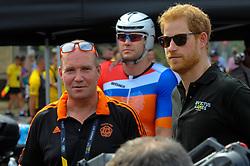 September 26, 2017 - Toronto, Ontario, Canada - His Royal Highness Prince Harry meeting with competitors during Invictus Games in Toronto, Canada. (Credit Image: © Anatoliy Cherkasov/NurPhoto via ZUMA Press)