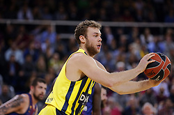 December 8, 2017 - Barcelona, Catalonia, Spain - Nicolo Melli during the match between FC Barcelona v Fenerbahce corresponding to the week 11 of the basketball Euroleague, in Barcelona, on December 08, 2017. (Credit Image: © Urbanandsport/NurPhoto via ZUMA Press)