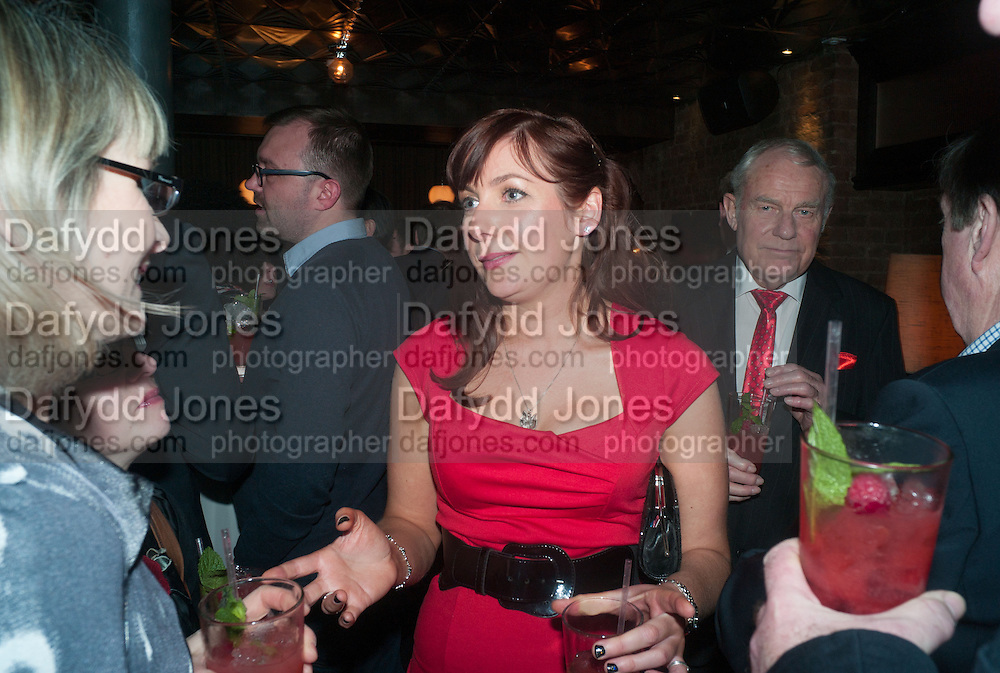 SUSIE BONIFACE, The Diaries of Fleet Street Fox  by Susie Boniface- book launch party<br /> Century Club, 61-63 Shaftesbury Avenue, London, 18 February 2013