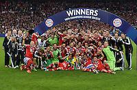 FUSSBALL  CHAMPIONS LEAGUE  SAISON 2012/2013  FINALE  Borussia Dortmund - FC Bayern Muenchen         25.05.2013 Champions League Sieger 2013 FC Bayern Muenchen