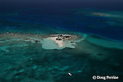 Goff's Caye, on Belize Barrier Reef, Belize, Central America  ( Caribbean )