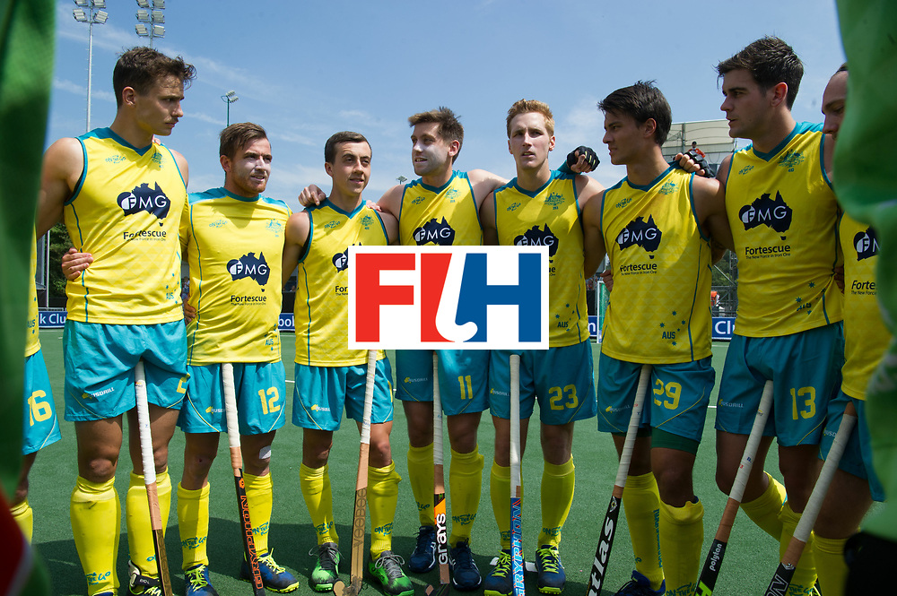 BREDA - Rabobank Hockey Champions Trophy<br /> India - Australia<br /> Photo: <br /> COPYRIGHT WORLDSPORTPICS FRANK UIJLENBROEK