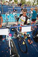 Craig Alexander (AUS). Noosa Triathlon. 2012 Noosa Triathlon Festival. Noosa, Queensland, Australia. 04/11/2012. Photo By Lucas Wroe