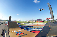 Italo Penarrubia during Skate Big Air Practice at 2014 X Games Austin in Austin, TX.    ©Brett Wilhelm/ESPN