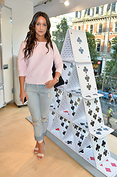 ROXIE NAFOUSI at the French Connection #NeverMissATrick Launch Party held at French Connection, 396 Oxford Street, London on 23rd July 2014.